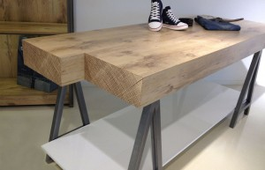 Tafel Linea 9 RAW WOOD
